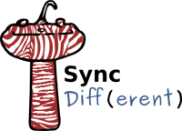 SyncDiff(erent) logo